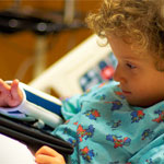 Littlest Patient and iPad
